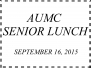 AUMC Senior Linch - September 16, 2015