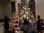 November 24, 2015 - Decorating the Sanctuary for Christmas.