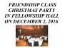 Friendship Class Christmas Party